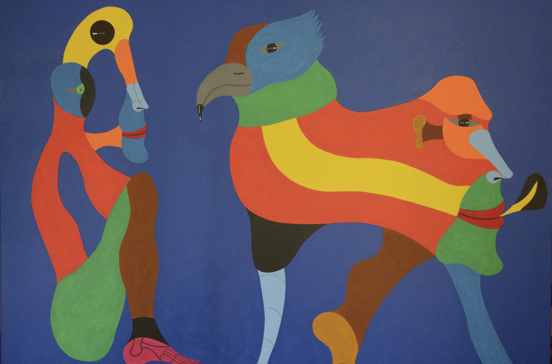 A obsessão pelas formas lúdicas e as cores vibrantes de Britto